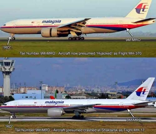 mh370 = mh17